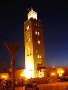 Minarett der Koutoubia Moschee