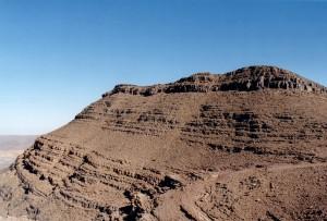 Das Atlasgebirge im Süden Marokkos