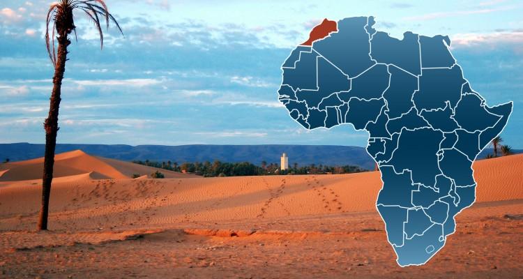 Geographie Marrakesch