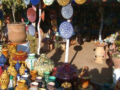Marrakesch Markt Souvenirs