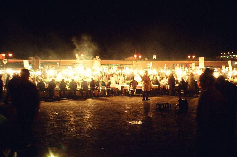 Marrakesch Nachtmärkte