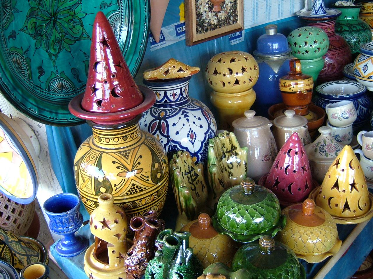 Ein Orientalisches Shoppingerlebnis In Marrakesch